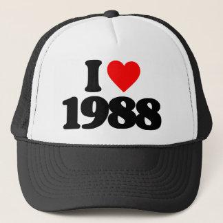 私は1988年を愛します キャップ