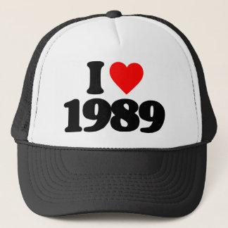 私は1989年を愛します キャップ