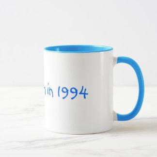 私は1994マグで生まれました マグカップ