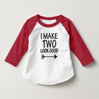 私は2一見によくおもしろいな男の子のワイシャツをします Tシャツ