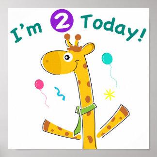 私は2人の今日幼児の第2誕生日です ポスター