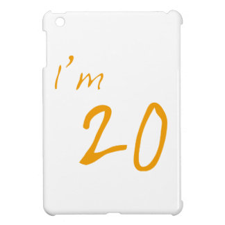 私は20才です iPad MINIカバー
