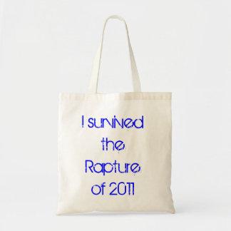 私は2011.の歓喜を生き延びました トートバッグ