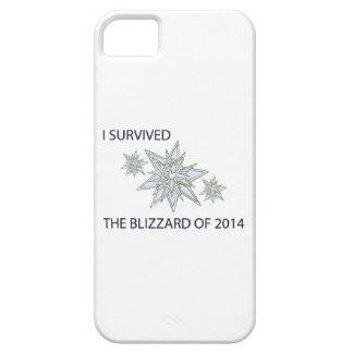 私は2014の水晶雪片のブリザードを生き延びました iPhone SE/5/5s ケース
