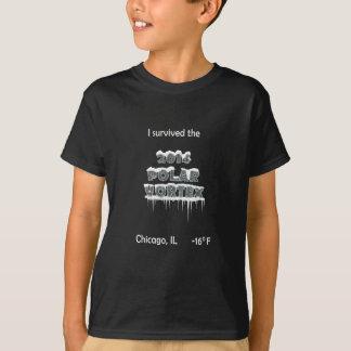 私は2014北極の渦-シカゴ--を生き延びました Tシャツ