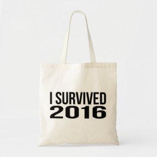 私は2016年を生き延びました トートバッグ
