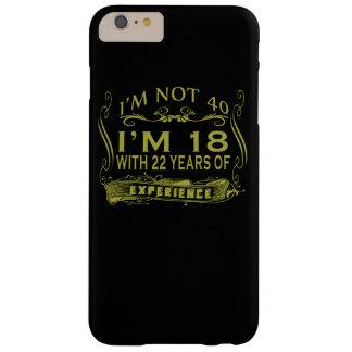 私は40才ではないです BARELY THERE iPhone 6 PLUS ケース