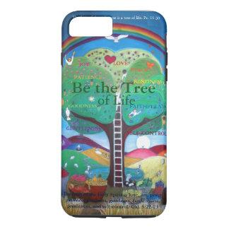 私は6プラスカバーに電話をかけます-木があって下さい iPhone 8 PLUS/7 PLUSケース