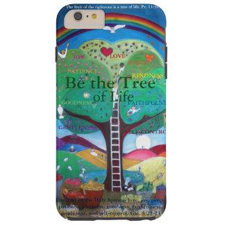 私は6プラスカバーに電話をかけます-木があって下さい TOUGH iPhone 6 PLUS ケース