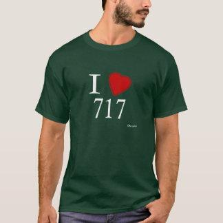 私は717 Harrisburgを愛します Tシャツ
