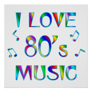 私は80年代を愛します ポスター