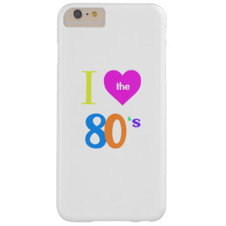 私は80年代を愛します BARELY THERE iPhone 6 PLUS ケース