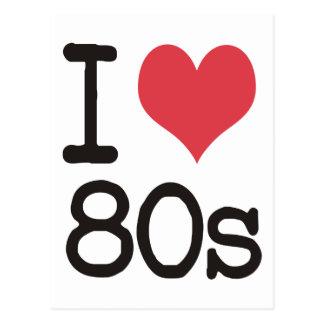 私は80sプロダクト及びデザインを愛します! ポストカード