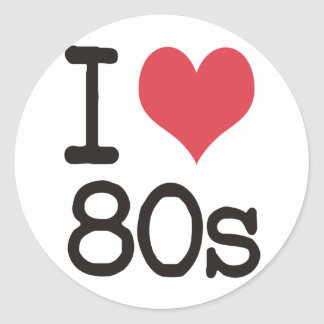 私は80sプロダクト及びデザインを愛します! ラウンドシール
