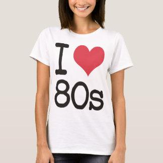 私は80sプロダクト及びデザインを愛します! tシャツ