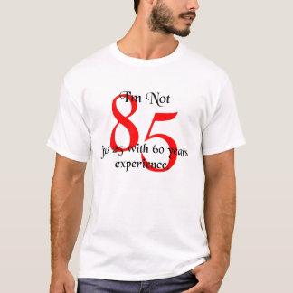 私は85才ではないです Tシャツ