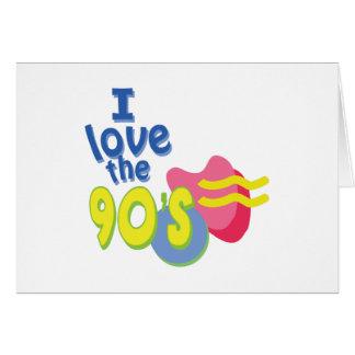 私は90年代を愛します カード