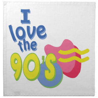 私は90年代を愛します ナプキンクロス