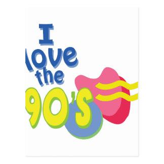 私は90年代を愛します ポストカード