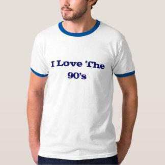 私は90年代を愛します Tシャツ