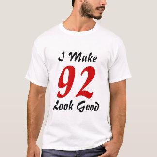 私は92一見をよくさせます Tシャツ