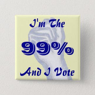私は99%才です 缶バッジ