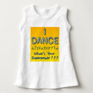 私は-あなたの超出力はであるか何- Tシャツを踊ります ドレス