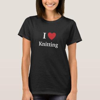 私は-おもしろいで、失礼な理由編むことをなぜ愛します! Tシャツ