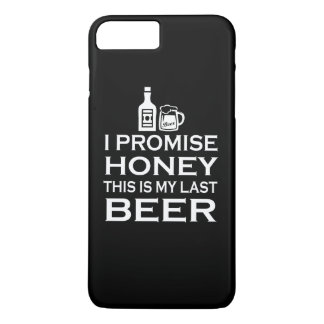 私は、これです私の最後のビール約束します iPhone 8 PLUS/7 PLUSケース