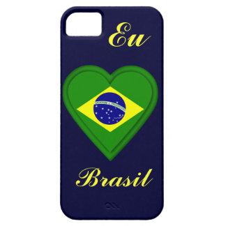 私は-をポルトガル語の…ブラジル- EU amoブラジル愛します iPhone SE/5/5s ケース