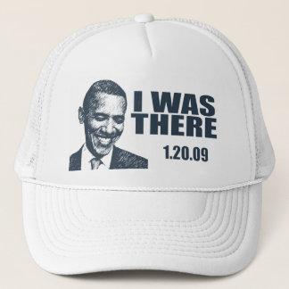 私は-オバマInauguration大統領そこにいました キャップ
