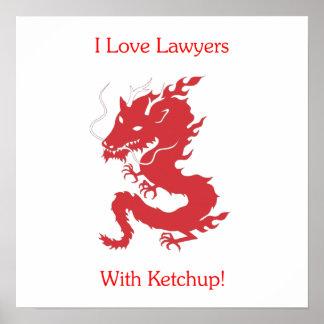 私は-ケチャップを持つ…弁護士を愛します! ポスター