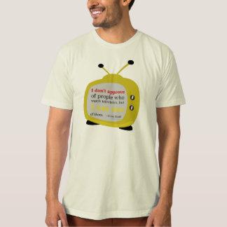私は…テレビを承認しません… - Glenn Gould Tシャツ