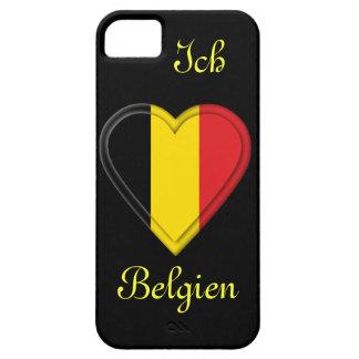 私は-ドイツ語の…ベルギー- Ichのliebe Belgienを愛します iPhone SE/5/5s ケース
