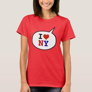 私は-ハートニューヨークを愛します Tシャツ