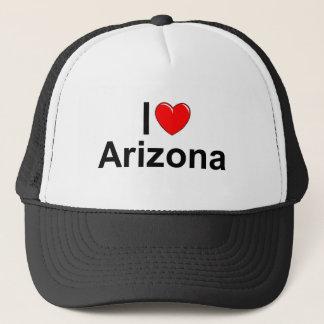 私は(ハート)アリゾナを愛します キャップ