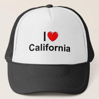 私は(ハート)カリフォルニアを愛します キャップ