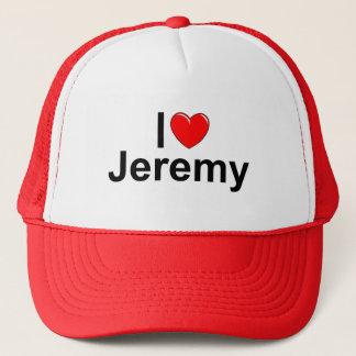 私は(ハート)ジェレミーを愛します キャップ