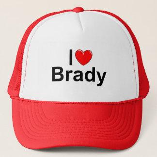 私は(ハート) Bradyを愛します キャップ