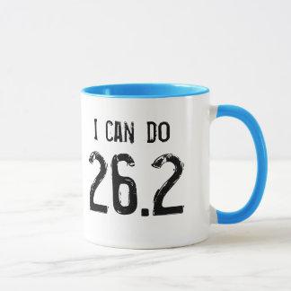私は-左利き26.2をしてもいいです マグカップ