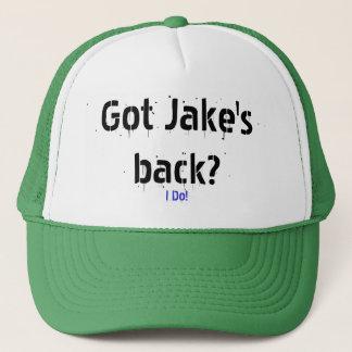 私は! 、得られたJakeの背部か。 キャップ