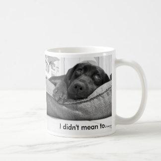 私は.......意味しませんでした コーヒーマグカップ