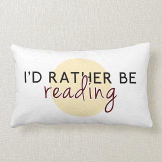 私は-愛書家のために…むしろ読んでいました ランバークッション