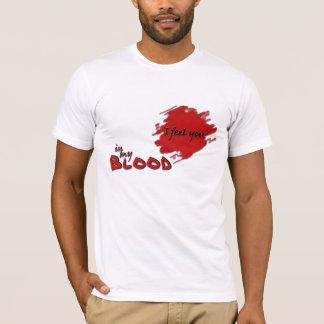 私は…感じます Tシャツ