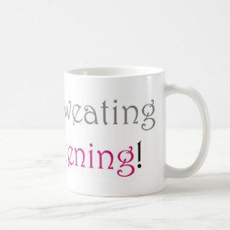 私は、私ぴかぴか光っています発汗していません コーヒーマグカップ
