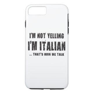 私は、私達がいかに話すかである私ですイタリアン…叫んでいません iPhone 8 PLUS/7 PLUSケース