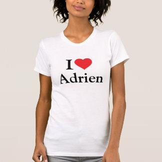 私はAdrienを愛します Tシャツ