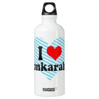 私はAfyonkarahisar、トルコを愛します ウォーターボトル