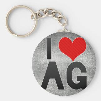 私はAGを愛します キーホルダー
