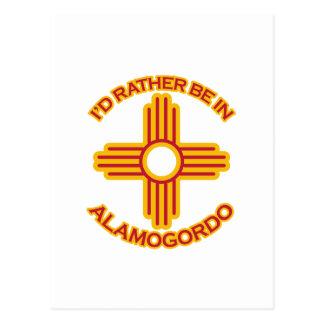 私はAlamogordoにむしろいます ポストカード